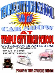 flyer for car show